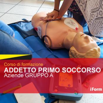 Addetto PRIMO SOCCORSO - Aziende A