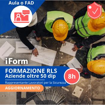 Formazione per RLS - Aziende + 50 lav.  AGGIORNAMENTO